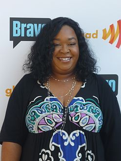 Shonda Rhimes is the creator, writer and executive producer of Scandal. Shonda Rhimes 2008.jpg