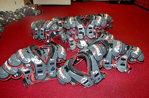 Shoulder pads - American football shoulder pads.
