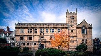 Shrewsbury Library - Front view of Shrewsbury Town Library
