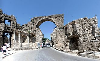Side, Turkey - Vespasian Gate