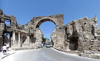 Side, Turkey - Vespasian Gate