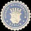 Siegelmarke Andreas - Realgymnasium - Berlin W0212953.jpg