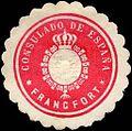 Siegelmarke Consulado de Espana - Francfort W0223602.jpg