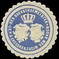 Siegelmarke Der Obersthofmeister I.K.H. der Grossherzogin von Baden W0356346.jpg