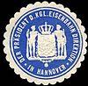 Siegelmarke Der Präsident der Königlichen Eisenbahn Direktion in Hannover W0229533.jpg