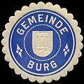 Siegelmarke Gemeinde Burg W0310482.jpg