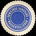 Siegelmarke Gemeinde Vorstand Wasserthaleben W0211993.jpg