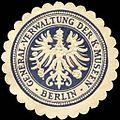 Siegelmarke General - Verwaltung der Königlichen Museen - Berlin W0240364.jpg