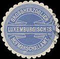 Siegelmarke Grosh. Luxemburgisches Hofmarschallamt W0349093.jpg