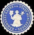 Siegelmarke Kämmerei - Kasse der Stadt Müncheberg W0245550.jpg