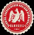Siegelmarke K.Pr. Bezirks Kommando II-Hamburg W0224154.jpg