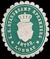 Siegelmarke K.S. Standesamt Spremberg Amtsh. Loebau W0338508.jpg