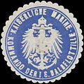Siegelmarke K. Marine Kommando der I. S Halbflottille W0357580.jpg