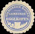 Siegelmarke Koenigreich Bayern Gemeinde Egglkofen W0310801.jpg