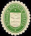 Siegelmarke Sigillum Civitatis Zossen W0226901.jpg