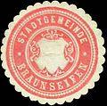 Siegelmarke Stadtgemeinde Braunseifen W0317684.jpg