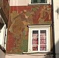 Siegfried am Haus Museumstraße 29 - Fresko von Albert Stolz.jpg