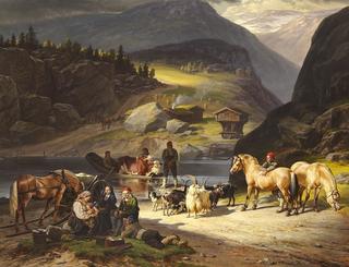 Johann Siegwald Dahl German painter