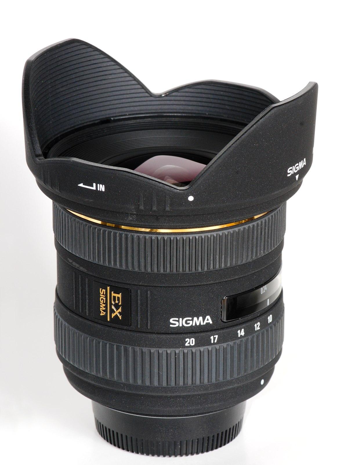 Sigma 10–20mm f/4–5.6 EX DC HSM lens - Wikipedia