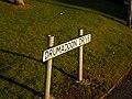 Sign, Drumadoon Drive, Ballybeen - geograph.org.uk - 1706288.jpg