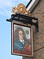 Sign for The John Evelyn, Evelyn Street, SE8 - geograph.org.uk - 1498720.jpg
