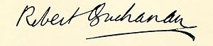 Robert Williams Buchanan - Image: Signature of Robert Buchanan