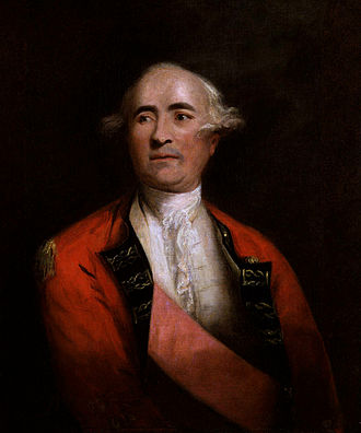 Frederick Haldimand - Portrait by Joshua Reynolds