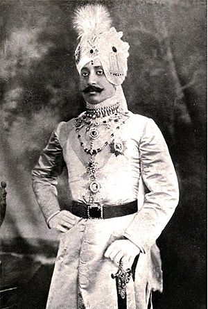 Wasif Ali Mirza - Sir Wasif Ali Mirza Khan Bahadur in his attire of a Nawab.