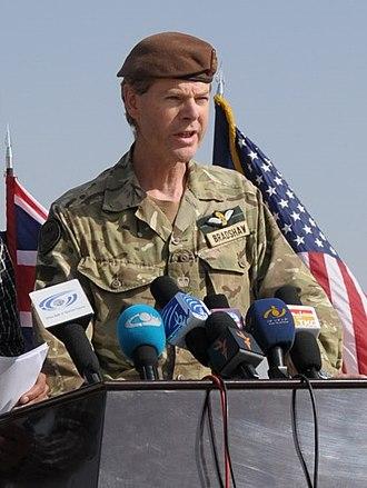 Department of War Studies, King's College London - Deputy Supreme Allied Commander Europe Sir Adrian Bradshaw