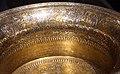 Siria, bacile detto battistero di s.luigi, 1320-40 ca, firmato muhammad ibn al-zayn, con restauri del 1821, ottone incr. d'oro, arge e pasta nera 04.JPG