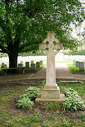 The gravestone of Mother Theodore.