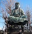 Sitting Buddha in Kichijyoji.jpg