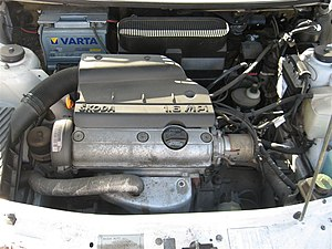 Škoda Felicia - 1,6 MPI engine