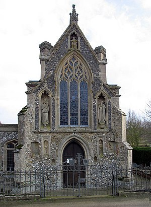 Basilica of Our Lady of Walsingham - Image: Slipper Chapel, Houghton St Giles, Norfolk geograph.org.uk 319689