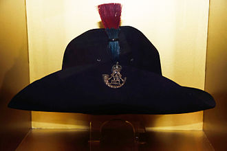 Militia and Volunteers of County Durham - Slouch hat of the 2nd Volunteer Battalion DLI, 1904-1908 from the Durham Light Infantry museum