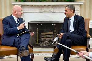 Michael Smerconish - Image: Smerconish Obama 2012