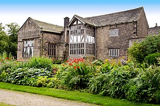 Listed buildings in Bolton - Image: Smithills Hall 05