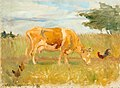 Soldan-Brofeldt A cow in the meadow.jpg