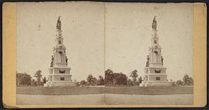 Melzar Hunt Mosman - Image: Soldiers Monument, Seaside Park, Bridgeport, Conn, by David W. Wilson