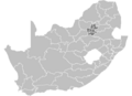 South Africa Districts showing GP.png