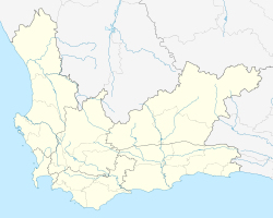 Barrydale is located in Western Cape