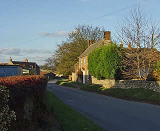 South Newbald Hamlet in the East Riding of Yorkshire, England