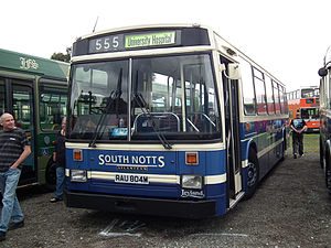 South Notts Bus Company - Preserved East Lancs bodied Leyland Atlantean