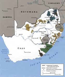Жизнь негров во времена апартеида в юар
