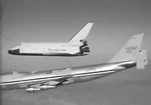 ファイル:Space Shuttle Enterprise 747 separation.ogv