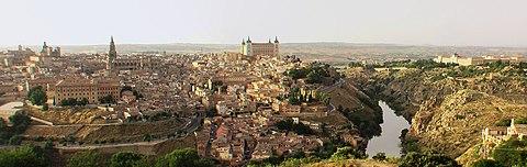 Spanien ToledoPanorama