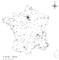 Spipoll map of France - journal.pone.0045822.g001.png