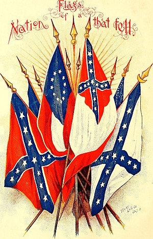 Flags of the Confederate States of America - Image: Sponsor souvenir album history and reunion (1895) (1895) (14576050240)