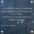 Sports Instructor Course plaque Bp13 Dózsa György53.jpg