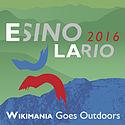 Squared logo of Wikimania Esino Lario.jpg